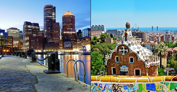 BARCELONA a BOSTON